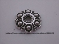 Free shipping 30pcs/lots tibet silver Bead Caps /jewelry accessories