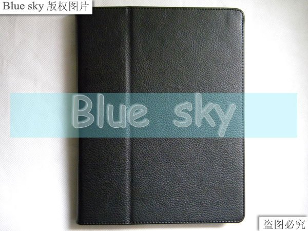 for ipad 2 leather Case 50pcs per lot free shipping(China (Mainland))