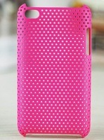 Mesh Net Hard Back Case Skin Cover For iTouch 4 4th Gen 100pcs