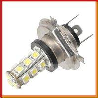 Free Shipping  H4 18 SMD (5050) Car Fog Light Fog Bulb Lamp  DC 12V