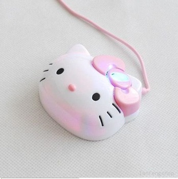 FREE SHIPPING SELLING BY 50pcs/lot Mice PC Laptop USB Hello Kitty Optical 1200dpi Mouse