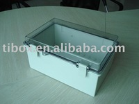 W200XH100XD70MM/CLEAR DOOR/IP66/WATERPROOF ENCLOSURE/PLASTIC BOX/DISTRIBUTION BOX/TIBOX/FIBOX/HIBOX/WATERPROOF BOX