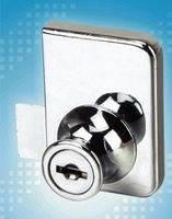quality goods High-class 608-35 blade glass door lock/furniture lock/cabinet lock