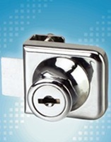 quality goods High-class 609-35 blade glass door lock/furniture lock/cabinet lock