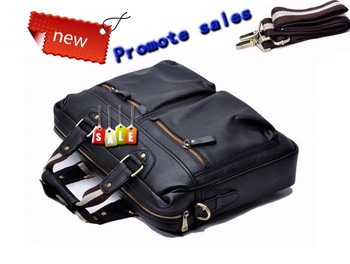 365POLO 2011 new style of head layer leather super big capacity man's briefcase, the tour wraps, shoulder bag, laptop bag