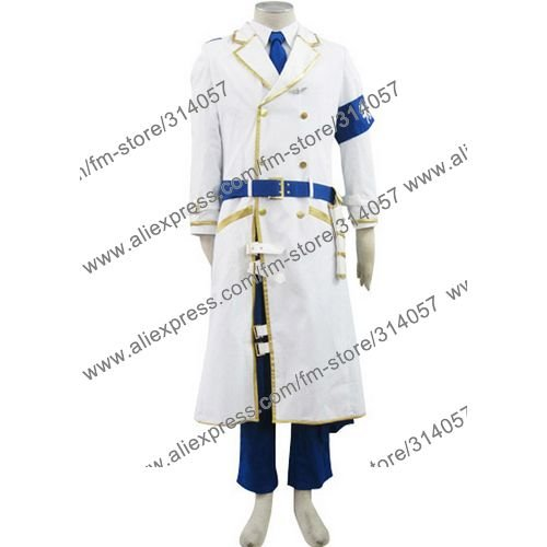 Freeshipping-anime products Dolls The First Unit Uniform(White)Cosplay Costume(China (Mainland))