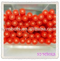 a-23 Free Shipping 100pcs 5mm Tomato Fruit Shape Cane Fancy Nail Art Polymer Clay Cane