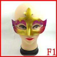 plastic halloween women costume mask masquerade face facial eye masks party mask  F1