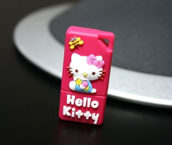Cute design hello kitty usb 1G