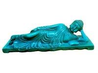 Rare RARE TIBET TURQUOISE SLEEPING BUDDHA STATUE Free shipping