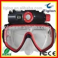 Free shipping waterproof glasses dvr DVR-014