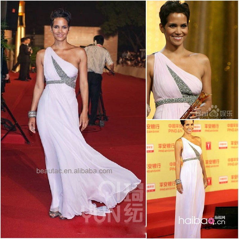 Free Shipping Custom made Brand Elegant Evening Dress Designer Party Dresses 2011 Celebrity Dresses(China (Mainland))