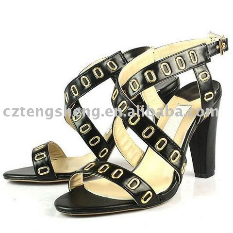 Minimum:1 piece - Real leather Fashion Lady Sandal No. JMC0103(China (Mainland))