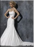Bianco Abiti da sposa Wedding dress Su Misura WJ424