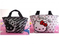 2PCS New Hello kitty cute lunch bag Girls Handbag 210