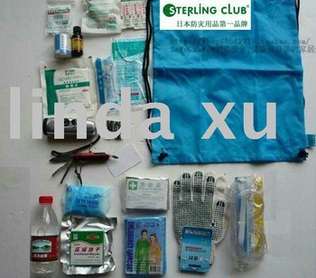 Free shipping Wholesale 5pc/lot EMERGENCY SURVIVAL EARTHQUAKE KIT \earthquake proof products