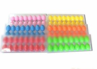 Wholesale!Easter eggs,6color Easter decorated egg,easter Plastic egg,500pcs/lot