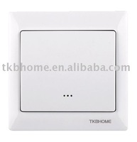 Z-Wave SIngle Wall Mount Transmitter /remote control switch for home automation+free shipping