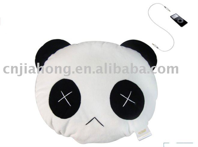 promotional plush music nap cushion+single speaker+ sound quality warranty and prompt delivery(China (Mainland))