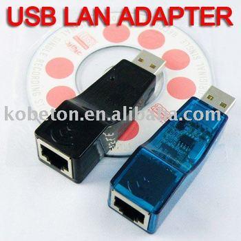 2pcs USB Ethernet RJ45 Adaptor Network Lan Card Hot Selling Ethernet External Lan Card Adapter 10/100 Mbps for Laptop PC