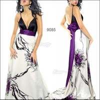 Коктейльное платье HE09816 Line One Shoulder Ruffles Padded Long Evening Dress