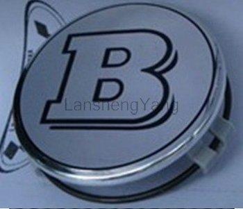lot Silver Benz AMG wheel cover emblem Mercedes Benz Wheel Central Cover Cap 75MM car badges/50pcs Free shipping