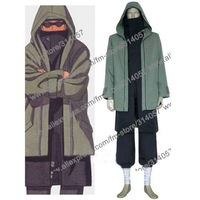 Freeshipping-anime products Naruto Shippuden Shino Aburame Halloween Cosplay Costume