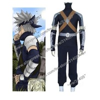 Freeshipping-anime products Naruto Young Kakashi Cosplay Costume