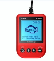 Wholesell CR803 JOBD Code Reader Red Free Shipping By Simple Airmail