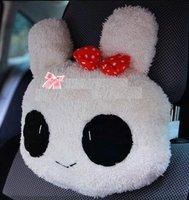 rabbit/bear/car headrest neck pillow/love rabbit Pillow/handmade rabbit truck car neck pillow/5pairs