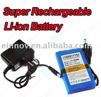 Security Accessory 12V DC Rechargeable Li-ion Battery 4800Mah CCTV Battery CB05