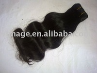 "brazilian virgin/malaysian virgin hair Body wave  8"" -28"" 100g x 2pc/lot    free shipping"