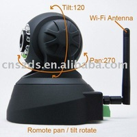 P/T Wireless IP Camera plug and play