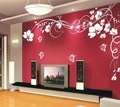 Vinyl Home Wall Art Decal Sticker Cherry Blossoms