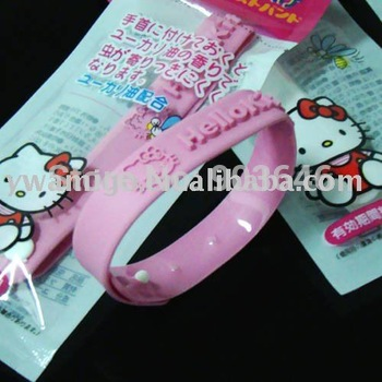 HOT-SELL 200pcs Free Shippment  Kitty Mosquito killers Mosquito repellent bracelet