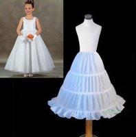 Free shipping 2011 new FLOWER GIRL 3-HOOP FULL Petticoat Slip,A-line Crinoline,chapel train,3 hoop,adjustable
