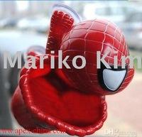 free shipping Spider Man spiderman with basket car holder Window Sucker Spider-Man Toy Doll Car decoration Interior decoration