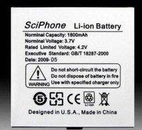50pcs/lot free shipping Promotion 2800mAh high capacity battery for I9+++/I68+/I9