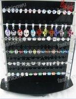 show shelf Jewelry Beads Loose bead Charms black acrylic display rack 1PC sample Free shippment