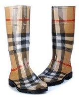 Gloss Rubber rain boot Ladies' Water/Rain Boots,waterproof shoes