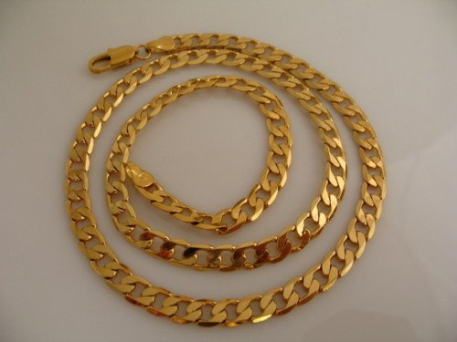 Jewelry Necklace.18K GP Yellow Gold Alloy. Free shipping.Gift insurance. Provide tracking numbers.(China (Mainland))