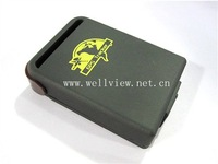 Mini GPS Tracker for locating and monitoring remote targets by SMS or internet