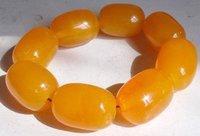 Asian Genuine Tibetan Amber  Carved  bangle bracelet shipping free 003