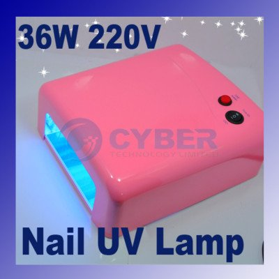 36W UV GEL NAIL CURING LAMP Art Dryer Manicure EU Plug(China (Mainland))