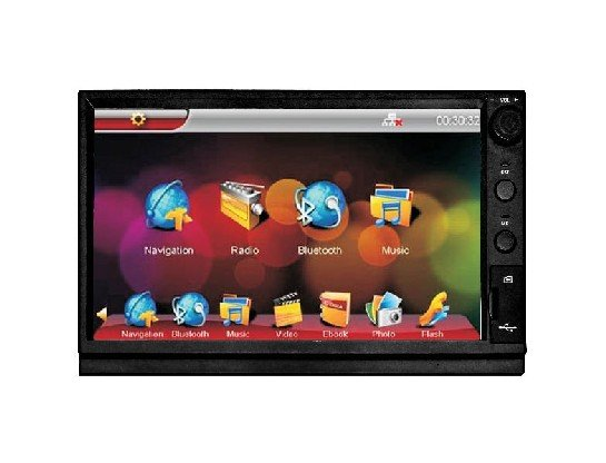 Freeshipping 7 inch Digital touchscreen 2 Din Car DVD player with GPS USB&amp;SD card Slot,FM/AM,Built-in GPS game&amp;Bluetooth(China (Mainland))
