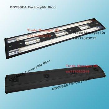 "ODYSSEA 80""(200cm) Aquarium Fish Tank Metal Halide light/HQI Lamp +T5 Actinic Blue+Bluemoon LED MHA Series,Black"