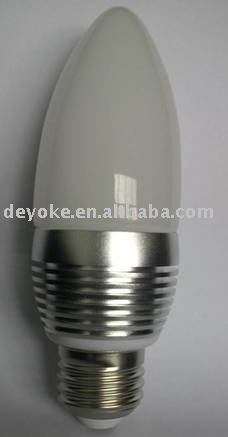 Free Shipping,3W Led candle light, Online wholesale with 2 year warranty (dyk-bulb-09)(China (Mainland))