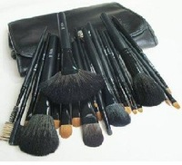 Free Shipping  Wholesale - New 22 pieces PROFESSIONAL MAKEUP Make up BRUSH Brushes