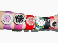 2012 Charming  Silicone Slap-on Watches