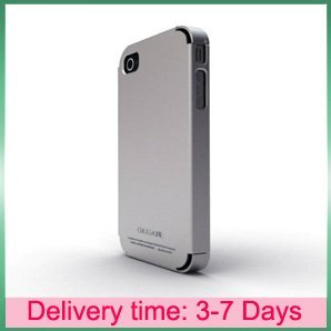 Metal case for iphone 4 4g,Aluminum Element Bumper Case For iphone 4 Cross-line,With retail packaged,free shipping(China (Mainland))